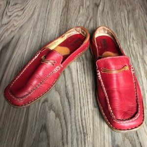 Born leather mules Shoes